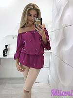 Блуза с бусинками, фото 4