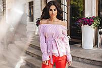 Стильная женская блуза полоска, фото 3