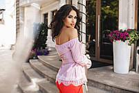 Стильная женская блуза полоска, фото 4