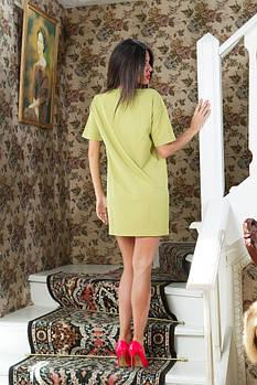 Платье с мимозой БАТАЛ