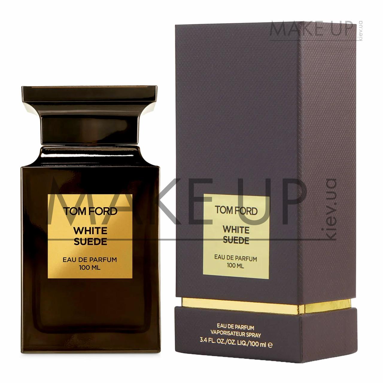 Женская парфюмированная вода Tom Ford White Suede EDP 100 мл.   Лицензия Объединенные Арабские Эмираты