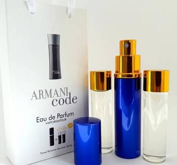 Armani Code for men 3x15ml - Trio Bag