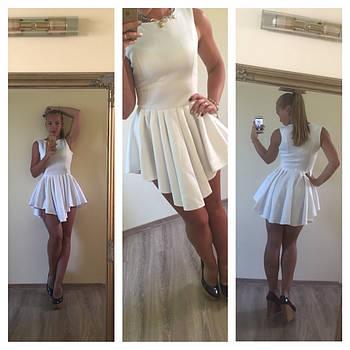 Платье из микродайвинга