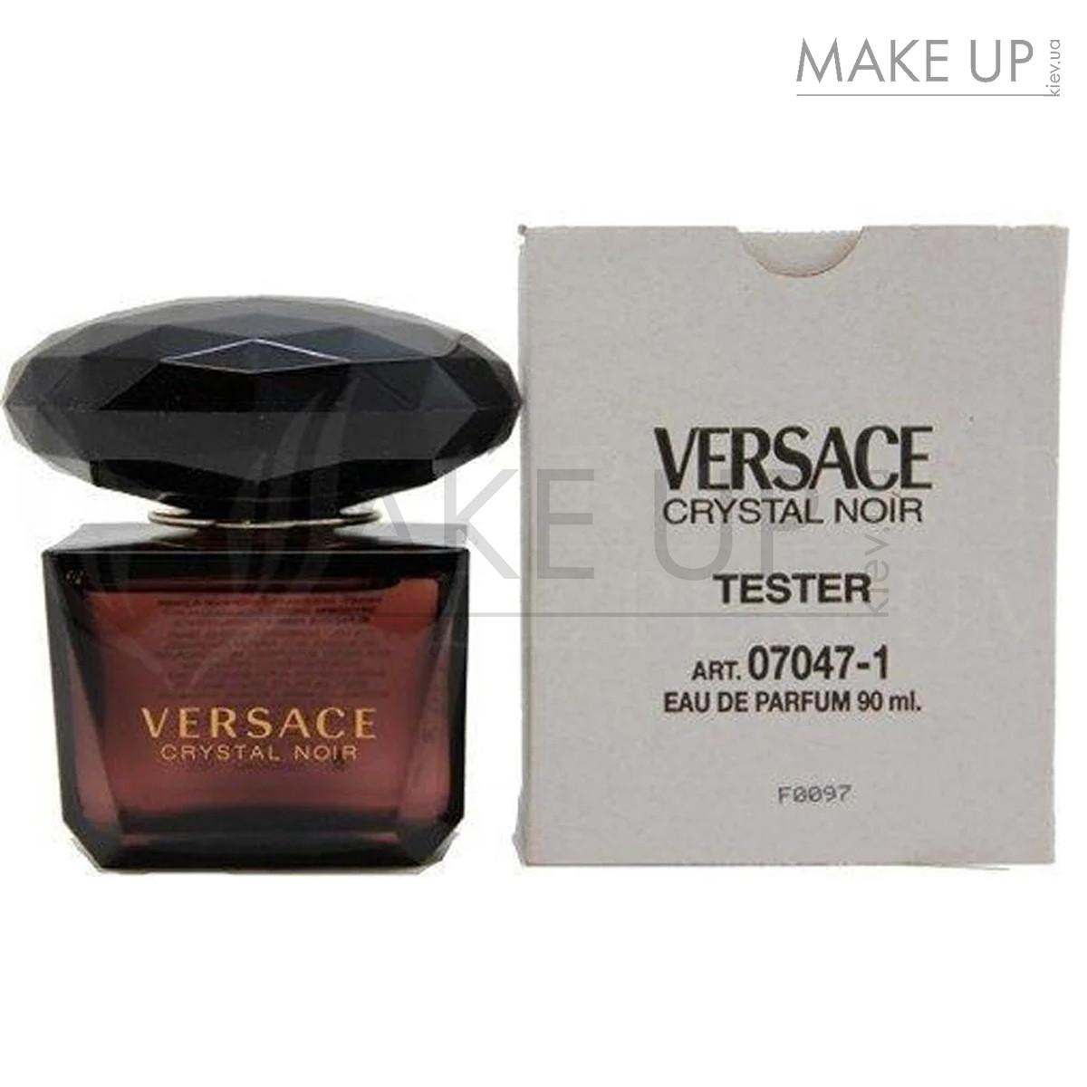 Tester женская туалетная вода Versace Crystal Noir edt 90 мл.   Лиц. ОАЭ Тестер