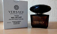 Tester женская туалетная вода Versace Crystal Noir edt 90 мл.   Лиц. ОАЭ Тестер, фото 2