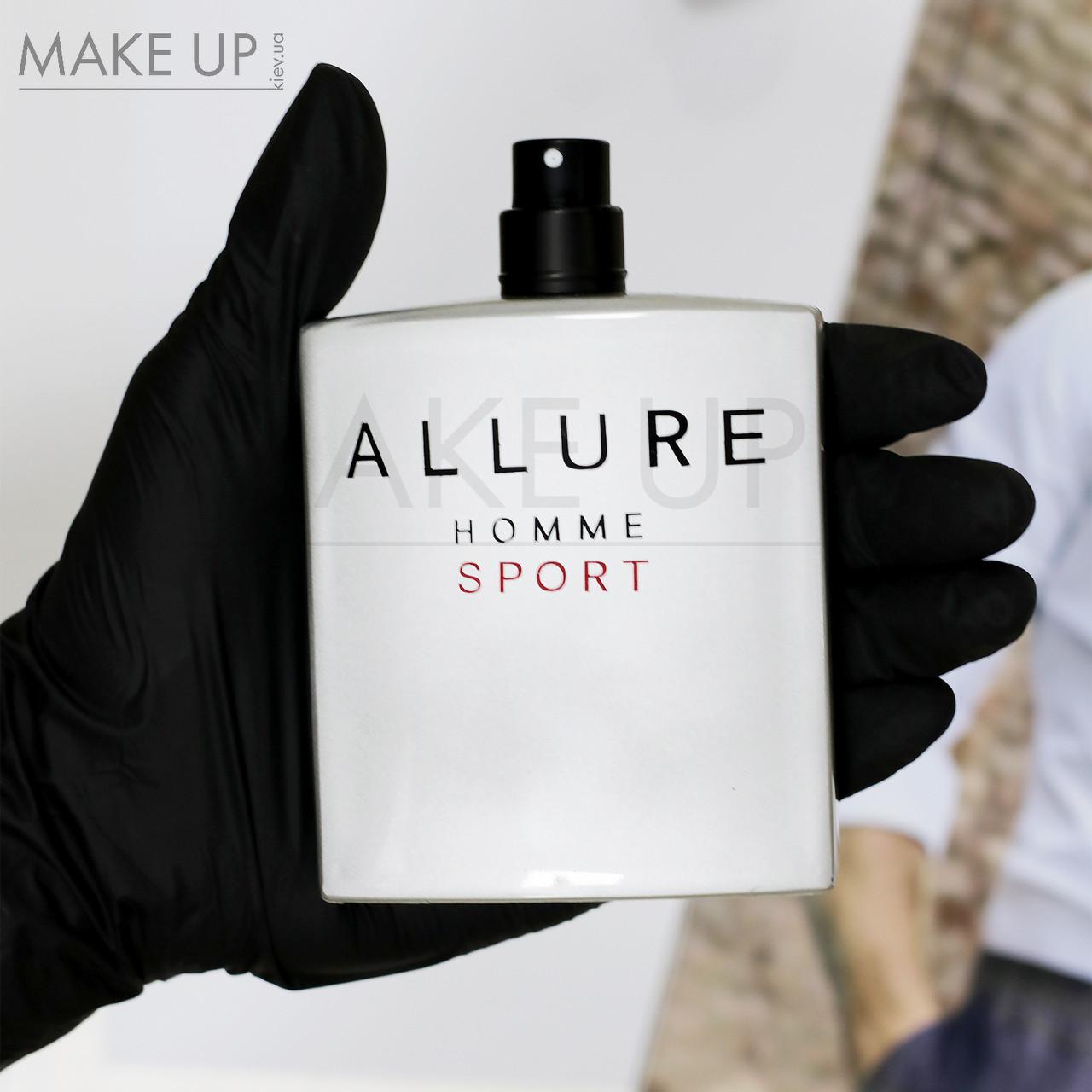 Tester мужская туалетная вода Chanel Allure Homme Sport edt 100 мл. | Лиц. ОАЭ Тестер