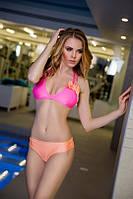 Двухцветный купальник с бантиками, фото 5