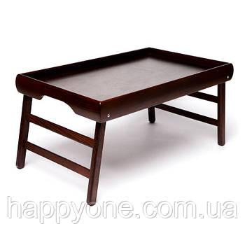 Столик для завтрака без рисунка (венге)