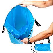 Бескамерный надувной шезлонг-лежак RipStop 2.0 (голубой), фото 3