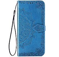 Чехол-книжка Art Case с визитницей для Samsung Galaxy A11 SM-A115F Blue