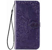 Чехол-книжка Art Case с визитницей для Samsung Galaxy A11 SM-A115F Violet
