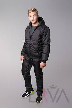 Мужской зимний костюм из куртки и брюк