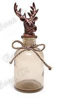 Декоративная бутылочка с пробкой