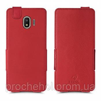 Чехол флип Stenk Prime для Samsung Galaxy J2 (2018) Красный