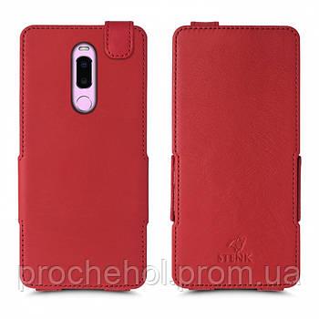 Чехол флип Stenk Prime для Meizu Note 8 Красный