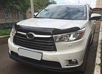 Toyota Highlander 2014-2020 гг. Дефлектор капота (SIM)