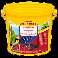 Sera Cichlid Red XL гранулы для больших плотоядных цихлид, 10000 мл
