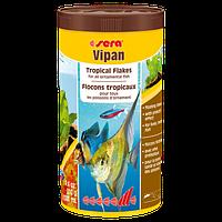 Sera Vipan универсальный корм в хлопьях, 1000 мл