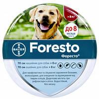 Ошейник Bayer Foresto против блох и клещей для собак, 70 см