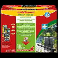 Sera Pond Super Carbon активированный уголь для устранения вредных веществ в прудах, 2 кг
