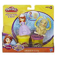 Пластилин Play Doh (Плей до) принцесса София и друзья