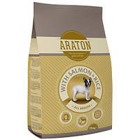 Сухой корм Araton Adult Salmon & Rice для собак весом от 5 до 60 кг, 15 кг