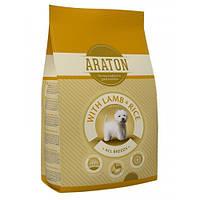 Сухой корм Araton Adult With Lamb & Rice для собак весом от 5 до 60 кг, 15 кг