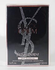 Yves Saint Laurent Black Opium Nuit Blanche Парфюмированная вода 90 ml (Ив Сен Лоран Блек Опиум) Женский Духи, фото 3