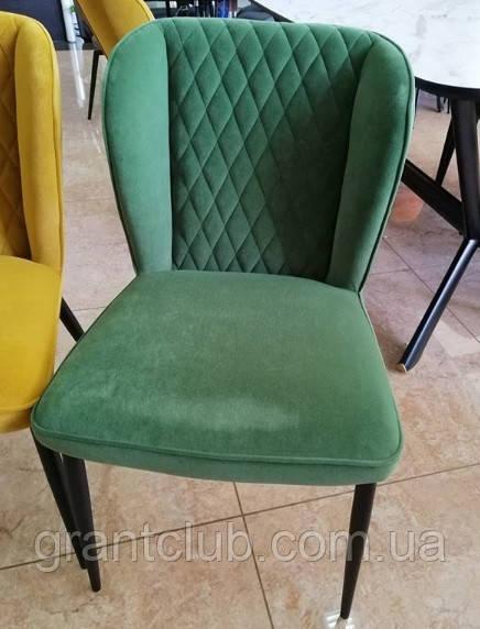Мягкий стул M-44 авокадо вельвет Vetro Mebel