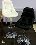 Барный стул B-45 черный искусственная кожа Vetro Mebel, фото 9