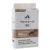 Пеленки All-Absorb Basic для собак 60х90 см, 50 шт