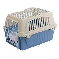 Переноска Ferplast Carrier Atlas 10 Open для кошек и мелких собак с откидной крышей, 32,5x48,5x29 см