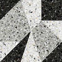 Керамогранит Керамин Терраццо Декор 1Д 50*50 серый