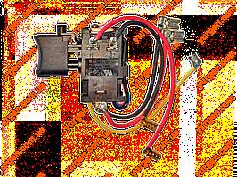 Кнопка для аккумуляторного шуруповёрта MAKITA DF347D (код 638887-6).