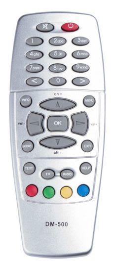 Пульт для телевізійного тюнера Dreambox DM-500