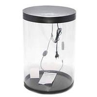 Аквариум Resun FW 45 цилиндр, сверхпрозрачный пластик, 45.5 л, 355x515 см