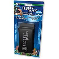 Плавающий магнитный скребок с лезвием JBL Floaty Blade L для чистки толстых аквариумных стекол 15 мм