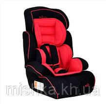 Автокресло 9-36 кг Joy GRAY красно-черный