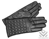 Перчатки кожаные женские Dior 2946