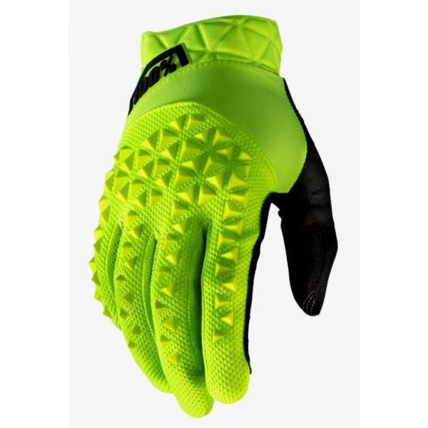 Вело перчатки Ride 100% GEOMATIC Glove [Fluo Yellow], M (9)