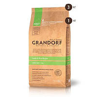 Сухой корм Grandorf Lamb & Rice Mini для взрослых собак малых пород, с ягненком и рисом, 3 кг