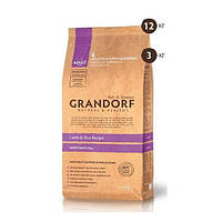 Сухой корм Grandorf Adult Large Breed для взрослых собак крупных пород, с ягненком и рисом, 12 кг