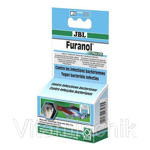 Препарат JBL Furanol Plus 250 против внешних и внутренних бактериальных инфекций