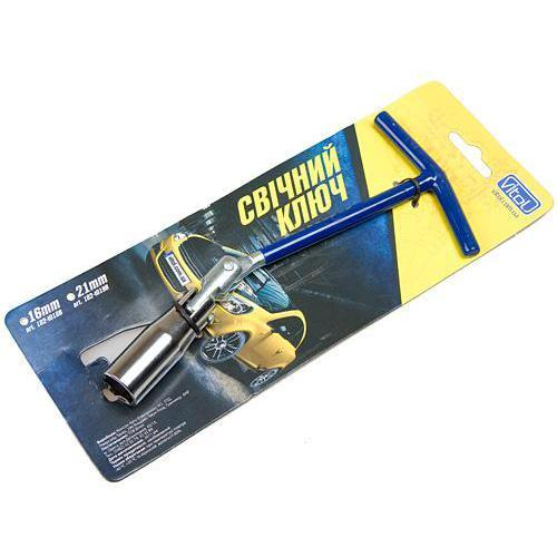 Ключ свечной Vitol 182-T018B