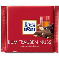Шоколад Ritter Sport Rum Trauben Nuss 100 g