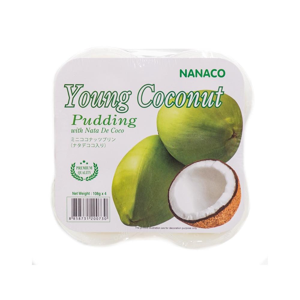 Пудинг Nanaco Coconut Pudding 4 Pack 432 g