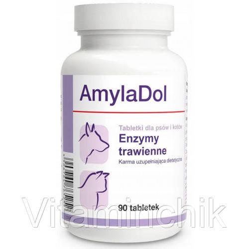 Пищевая добавка Dolfos AmylaDol для котов и собак, 90 табл.