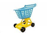 Игрушечная  тележка  для продуктов Супермаркет   Технок, фото 2