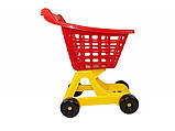 Игрушечная  тележка  для продуктов Супермаркет   Технок, фото 3