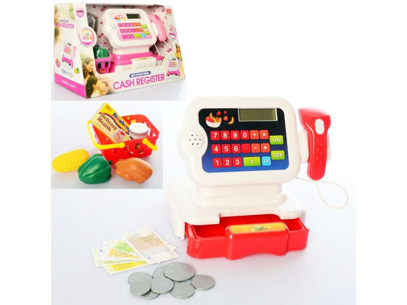 Кассовый аппарат  игрушечный   6623
